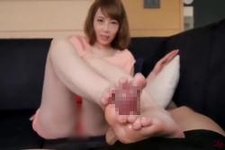 無修正 淫語責め痴女お姉さんの美脚コキちんぽ虐め!!