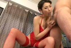 SEXYランジェリー猥褻痴女フェラチオ!竹内紗里奈
