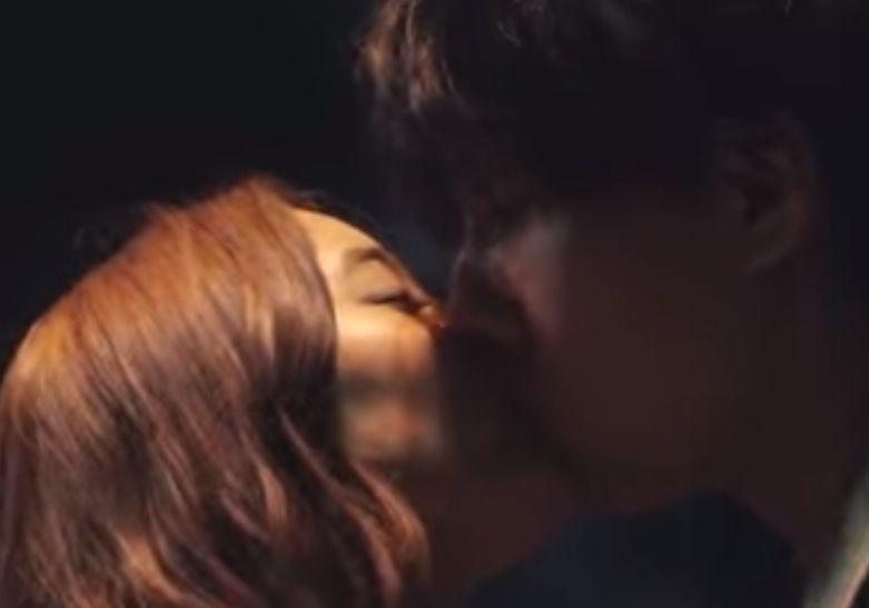 【新木優子】長い接吻を続けるラブシーン