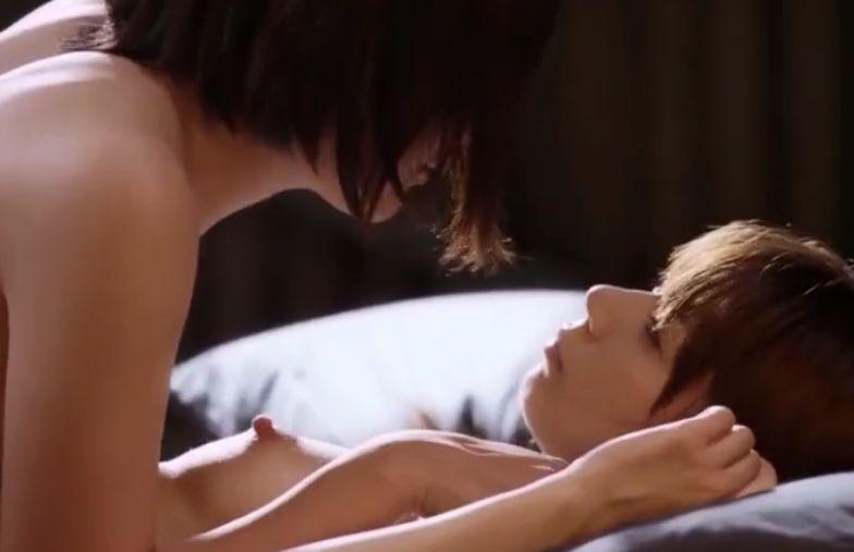 【芳賀優里亜】柔らかくて美しい形のバストに触れる濡れ場