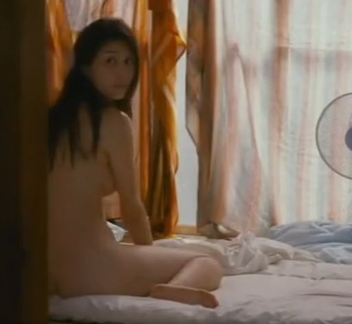 【橋本マナミ】惜しげもなくセクシーな裸体を披露している濡れ場