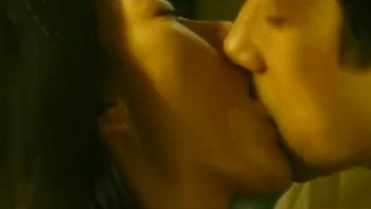 【中山美穂】男を興奮させるキスをした濡れ場
