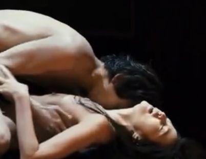 【濱田のり子】乳首を愛撫される濡れ場