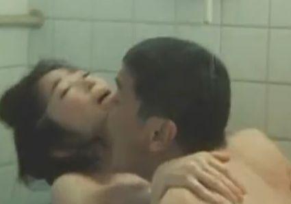 【荻野目慶子】抱きしめてねちっこく腰を動かす濡れ場
