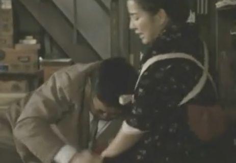 【吉永小百合】下着の奥を覗かれる濡れ場