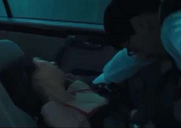 【篠田麻里子】車の中で男性と肉体関係を結んでしまった濡れ場