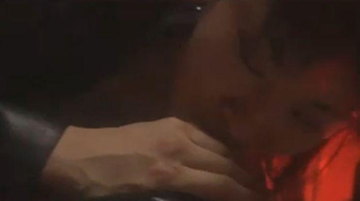 【杉本彩】乳首に舌を這わせる濡れ場