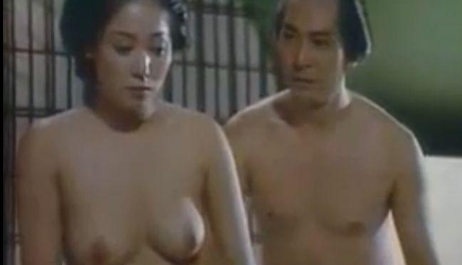 【ひし美ゆり子】形の良いボディラインを見せる濡れ場