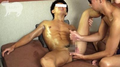 初登場!!水泳経験者で色黒腹筋バキバキ迅人(はやと)22歳!!