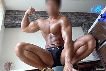 [Body Focus] MODEL No.2 長瀬 慎太郎 183×88×21歳