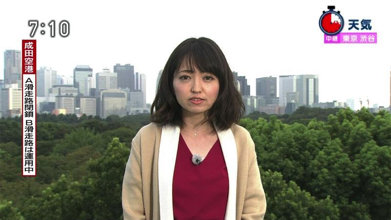 福岡良子 デカいおっぱい おはよう日本 180914