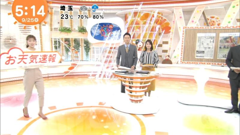 めざまし阿部華也子ちゃんのエロエロキャミ透け 180926