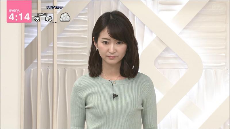中島芽生 少しブラ透け every.   190212