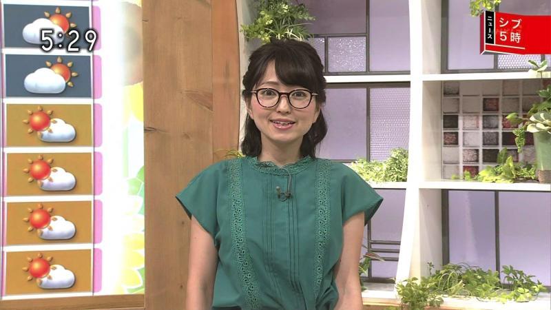 福岡良子 エロいおっぱい シブ5時 180802