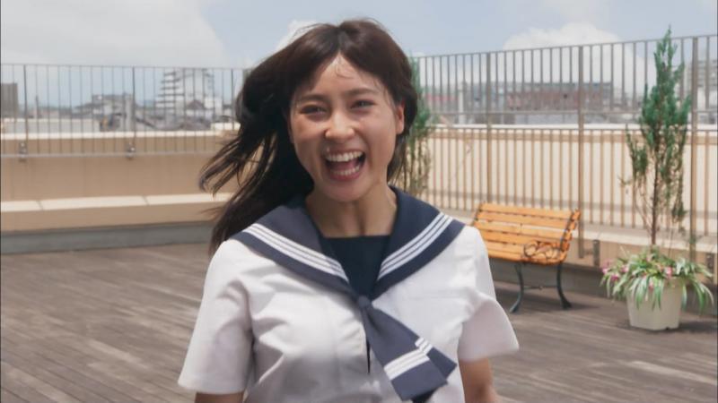 土屋太鳳 エロいおっぱい チア☆ダン第6話