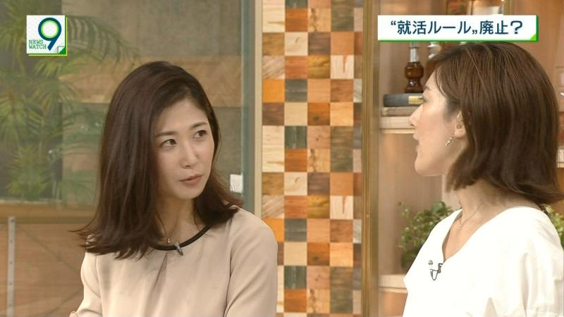 桑子真帆 エロいおっぱい ニュースウォッチ 180905