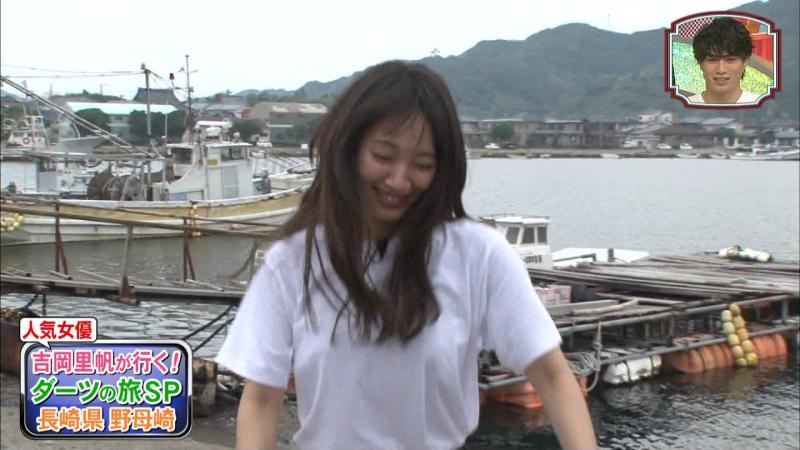 吉岡里帆さんシャツインしておっぱいを強調してエロエロに 笑コラ3時間SP
