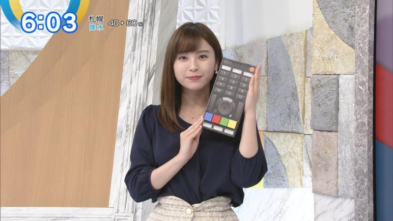 角谷暁子のエロい横乳 モーサテ 181205