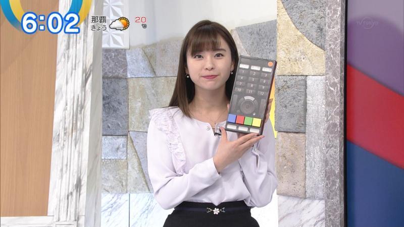 角谷暁子のエッチなミニスカート モーサテ 181218