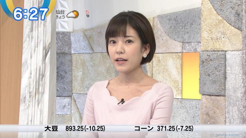 西野志海のエロい胸元 モーサテ 190117