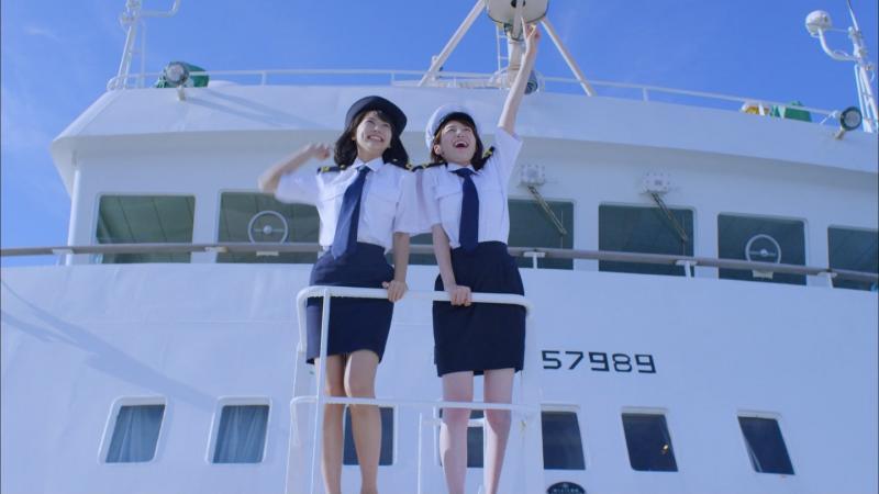 マジで航海しています