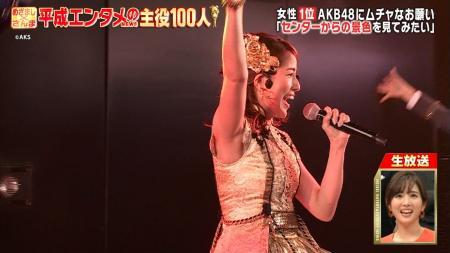 永島優美のアイドル衣装でエロ腋とムチムチおっぱい