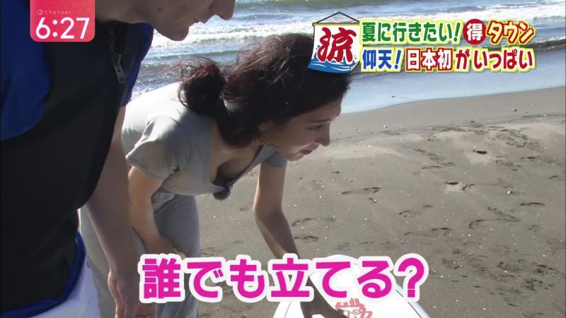 加藤真輝子って乳首見えそうになるくらいおっぱいが成長しちゃったんだな