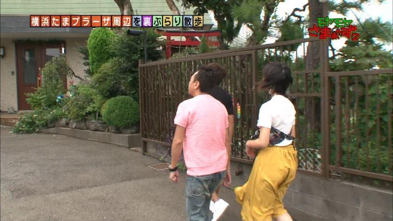 福田典子さんズボンが張り付いて尻の割れ目がわかってしまう もやさま 181015
