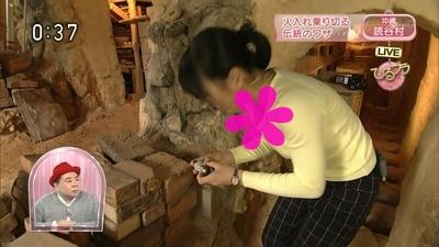 澤田彩香のエロ巨乳でブラなんか見えちゃったら