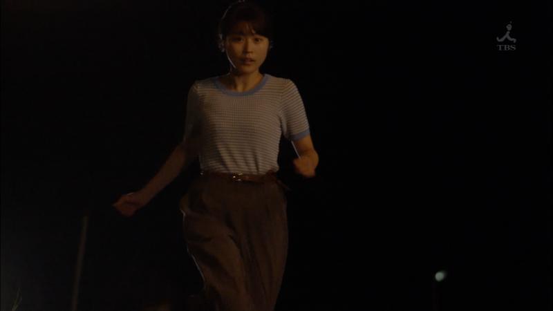 キャミ透けしながら走っておっぱいが揺れる有村架純ちゃん 0学聖日記 #2