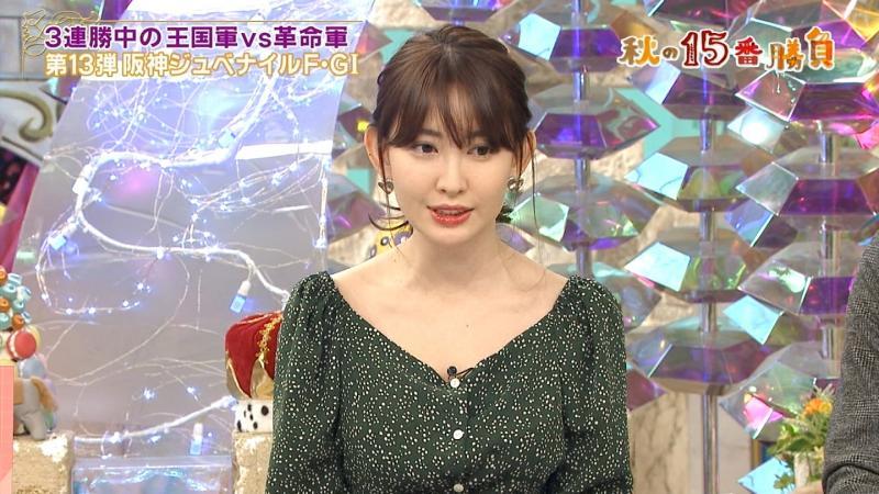 小嶋陽菜さんのエロい胸元 馬好王国 181210