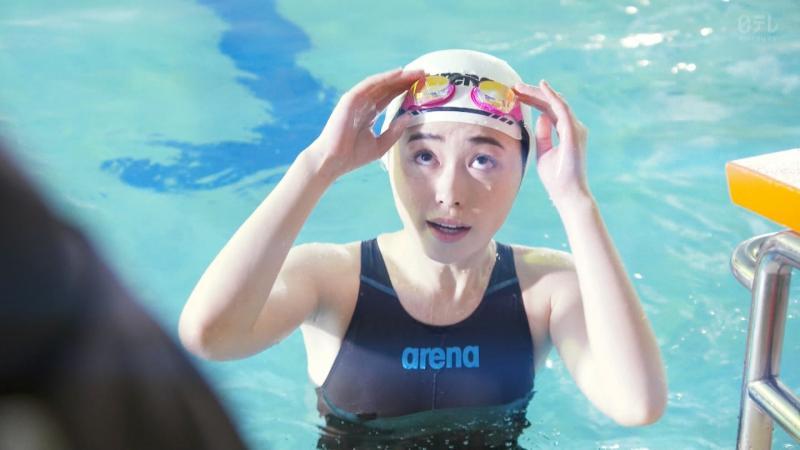 福原遥ちゃんの競泳水着で乳首透けそう 3年A組 -今から皆さんは、人質です #06