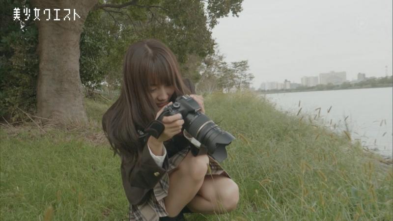 黒木ひかり(18歳・東京)ちゃんパンツ見えそう 美少女クエスト #24