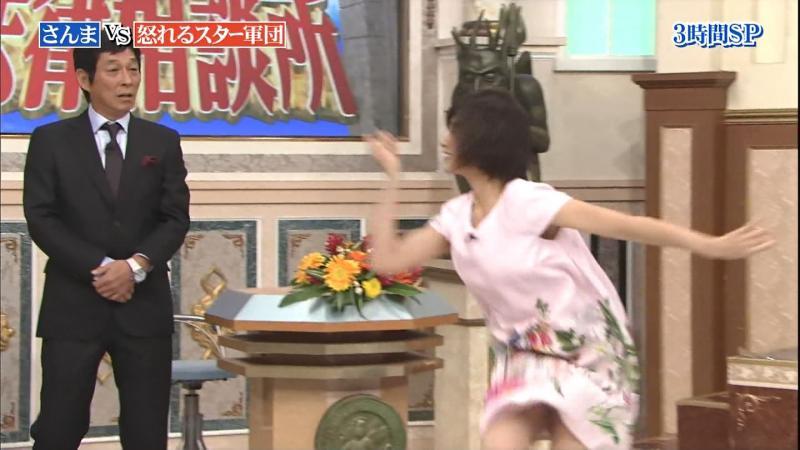 市來玲奈さんダンスをしてスカートがめくれてパンチラする 法律相談所 181015