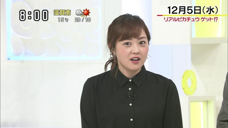 水卜麻美 エロおっぱい スッキリ 181206
