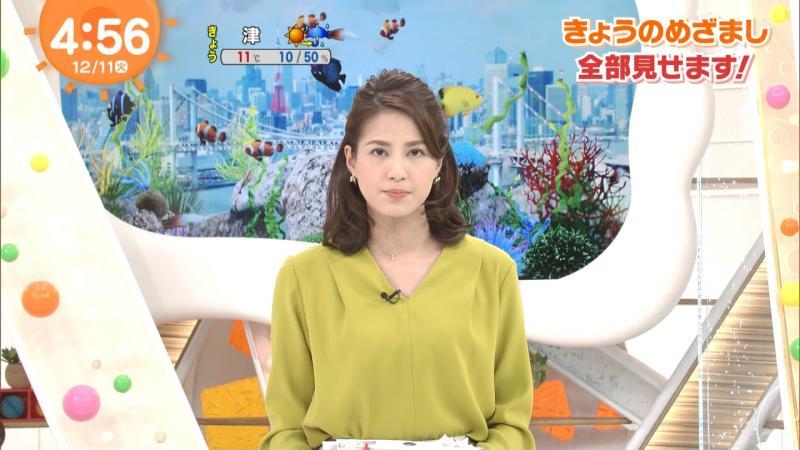 永島優美のエロいおっぱい めざまし 181212