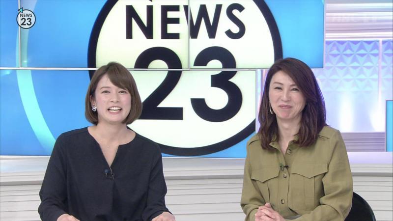 NEWS23胸チラ