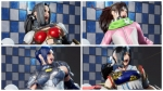 「FIGHTING EX LAYER」 女性キャラクターのダメージ表情