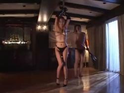 【Pornhub】スレンダーでナイスバディな美女を縛って吊るして変態野郎がムチで調教!!!(約30分動画) - エロビデオネット(3)