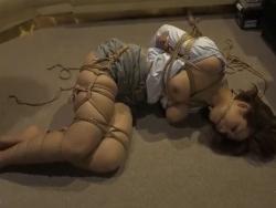 麻綿で縛られてマゾに目覚める人妻 推川ゆうり