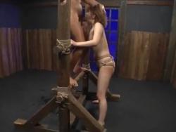 ギャル SM 拘束 緊縛 口内射精 イラマチオ 拷問 エロい 麻里梨夏 イキまくる(7)