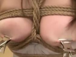 巨乳 フェラ 痴女 調教 SM 拘束 緊縛 イラマチオ お姉さん 奴隷(2)