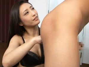 神納花 M男のアナルを舐め指で掻きまわし前立腺責め手コキで悶絶させる美痴女