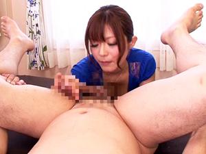 【さとう遥希】エロボディの家庭教師がフェラからちんぐりアナル舐め手コキして騎乗位で腰を振りまくる!