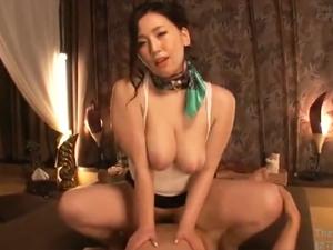 佐山愛 乳揺れ騎乗位SEXでチンポを膣内マッサージしてHカップ爆乳パイズリで狭射させるメンズエステ