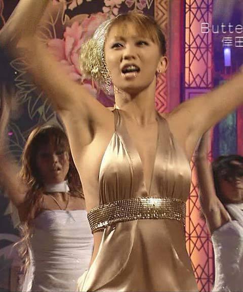 倖田來未 エロ画像 乳首ポロリの決定的瞬間がエロすぎるwww