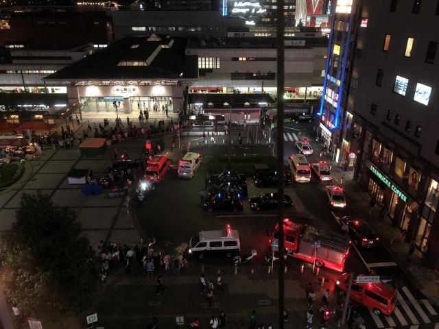 【画像】名古屋市熱田区で事故、ガチでヤバい・・・・