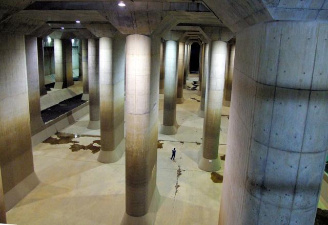 洪水防ぐ「地下神殿」が4年ぶりにフル活動。 担当者「ひやひやしました」