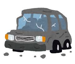 Amazonで欲しかった物が安く買えてウキウキなワイ、車で縁石に乗り上げて無事死亡